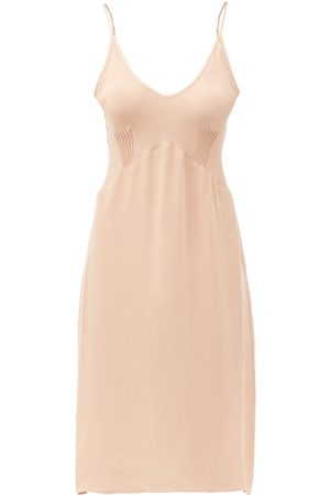 Araks Cadel Pintuck-pleated Silk Nightdress - Womens