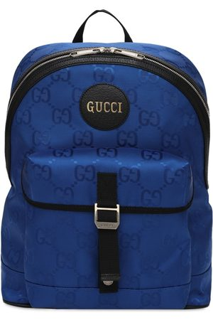 Gucci Men Rucksacks - Off The Grid Eco Nylon Backpack