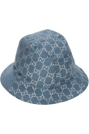 Gucci Gg Wool Blend Lamé Bucket Hat