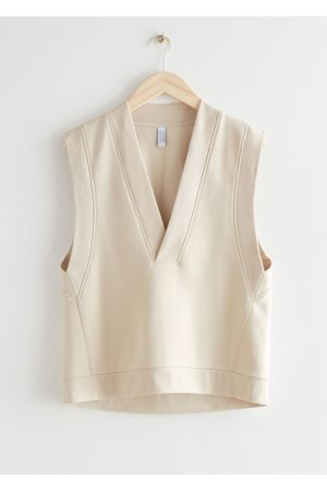 & OTHER STORIES Relaxed Cotton Vest