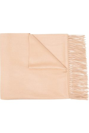 N.PEAL Women Scarves - Woven cashmere shawl