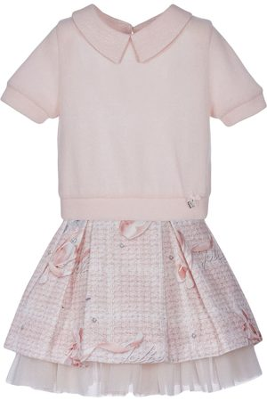 Lapin House Girls Blouses - Jolie blouse and skirt set