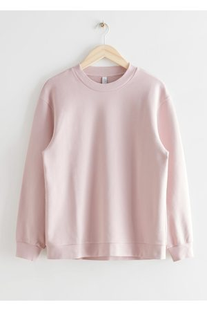 & OTHER STORIES Women Sweaters - Long Relaxed Cotton Sweater
