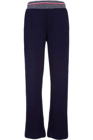 Lapin House Stripe-detail fitted trousers