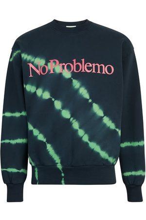 ARIES Tie-dye No Problemo sweatshirt
