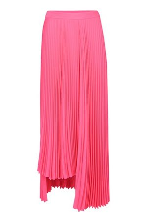 Balenciaga Asymetric Pleated Skirt