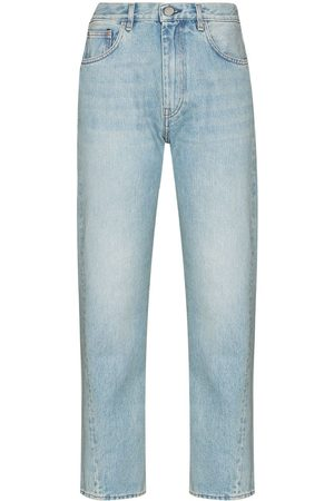 Totême Twisted-seam cropped jeans