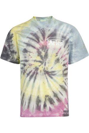 ARIES Men Short Sleeve - Tie-dye t-shirt