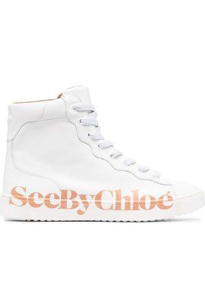 See by Chloé Women Sneakers - Side-logo high-top sneakers