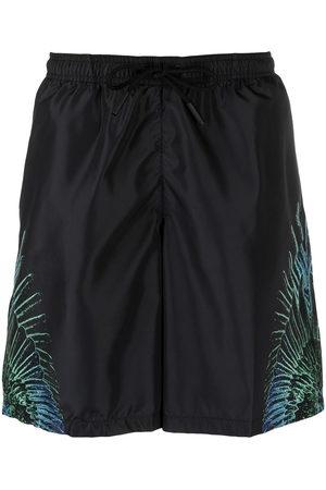 MARCELO BURLON Men Swim Shorts - Wings print swim shorts