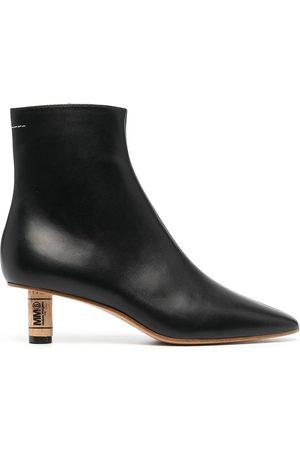 MM6 MAISON MARGIELA Cork-effect heel boots