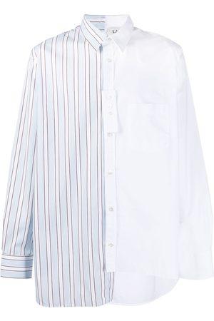 Lanvin Multi-panel design shirt