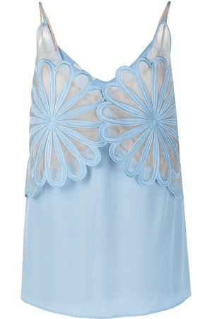 Stella McCartney Layered floral vest top