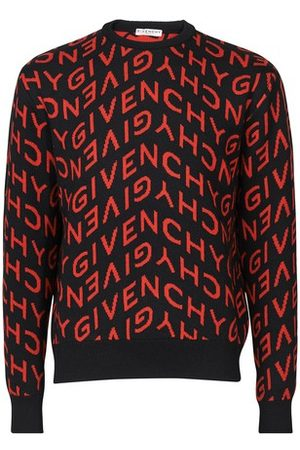 Givenchy Men Sweaters - Logo allover pullover