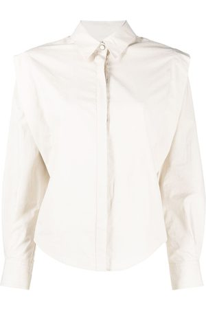 Isabel Marant Talki cotton shirt - Neutrals