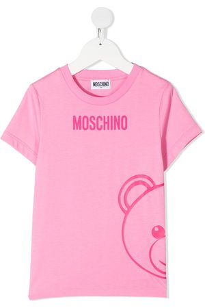 Moschino Girls T-shirts - Teddy print T-shirt