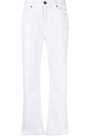 Etro Women Wide Leg - Mid-rise wide-leg jeans
