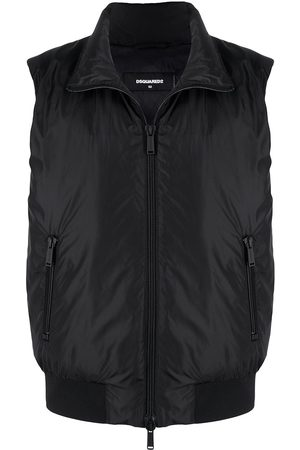 Dsquared2 Icon logo print padded gilet
