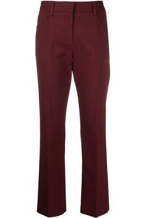 See by Chloé Mid-rise straight trousers
