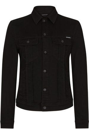 Dolce & Gabbana Button-up cotton denim jacket