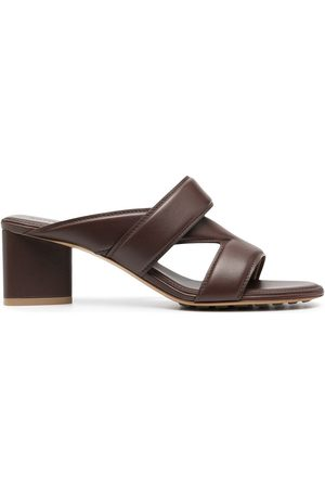 Bottega Veneta Crossover-strap leather sandals