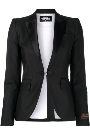 Dsquared2 Single-breasted fitted jacket