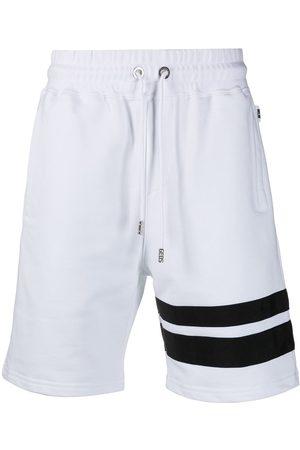 GCDS Stripe-detail jogger shorts