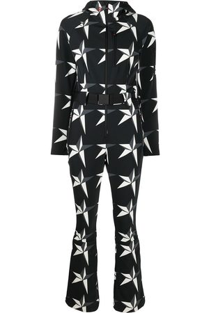 Perfect Moment Star print hooded jumpsuit