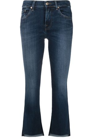 7 for all Mankind Mid-rise flared jeans