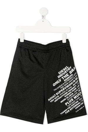 Diesel Pfrakle mesh shorts