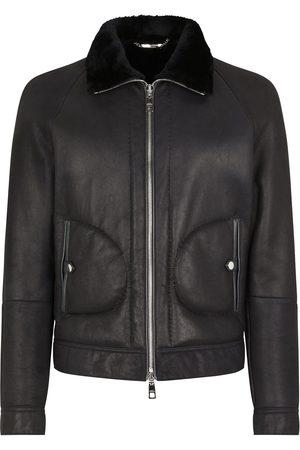Dolce & Gabbana Shearling lined bomber jacket