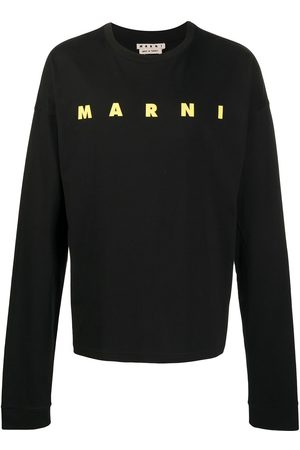 Marni Logo-print cotton sweatshirt