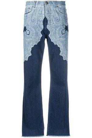 Etro Paisley-print wide leg jeans