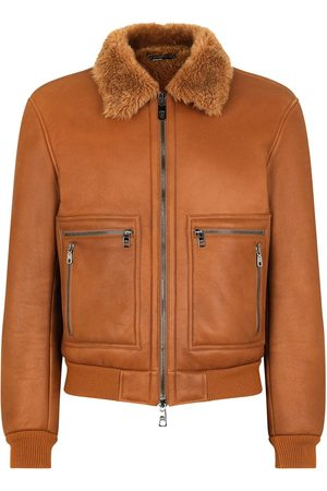 Dolce & Gabbana Shearling lined bomber jacket