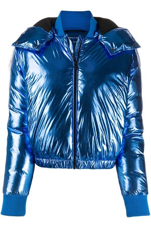 Perfect Moment Star metallic puffer jacket