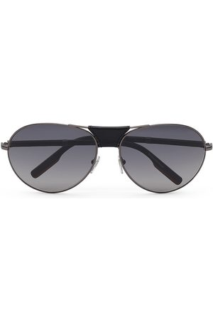 Ermenegildo Zegna Men Aviators - Tinted aviator sunglasses - Grey