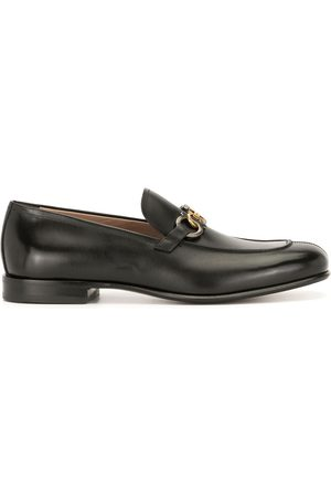 Salvatore Ferragamo Slip-on leather loafers