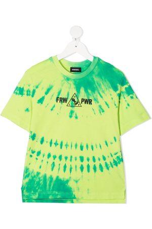 Diesel Boys T-shirts - Tie-dye print T-shirt