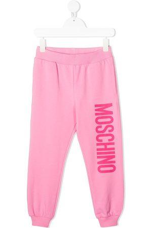 Moschino Logo print sweatpants