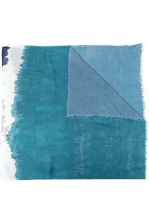 Faliero Sarti Colour-block modal-blend scarf