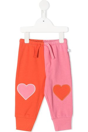 Stella McCartney Heart cotton track pants