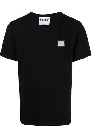 Moschino Logo-plaque short-sleeve T-shirt
