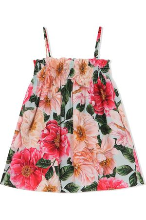 Dolce & Gabbana Floral-print sleeveless dress