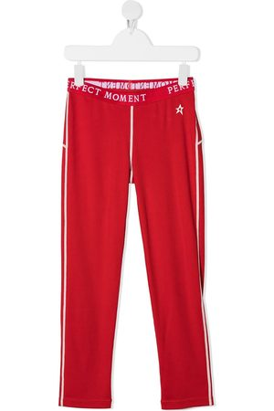 Perfect Moment Logo-print thermal track pants