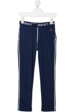 Perfect Moment Logo-print track pants