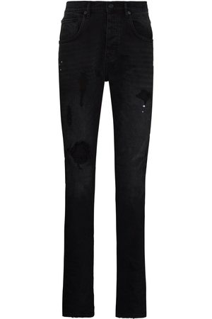 Purple Brand Men Slim - Ripped detail jeans