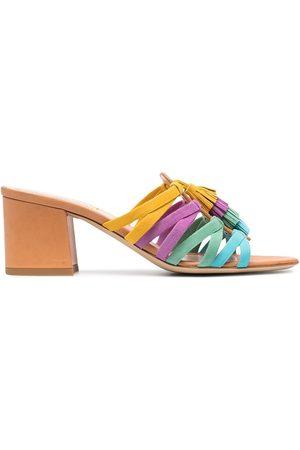 Etro Tassel-detail slip-on sandals