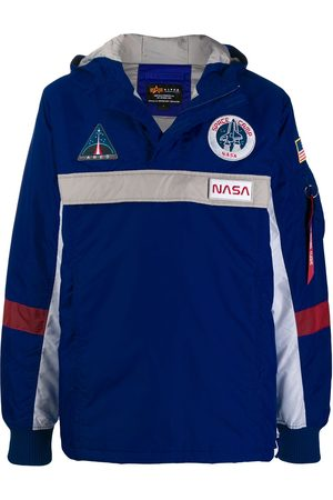 Alpha Industries NASA logo anorak jacket