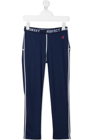 Perfect Moment Logo-print thermal track pants