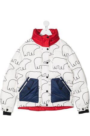 Perfect Moment Rider bear-print jacket